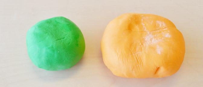 Green and Orange Fondant
