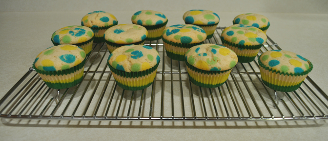 Cupcakes on Cooling Rack