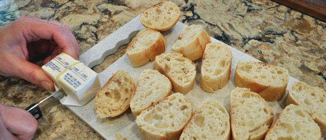 Cut Baguette