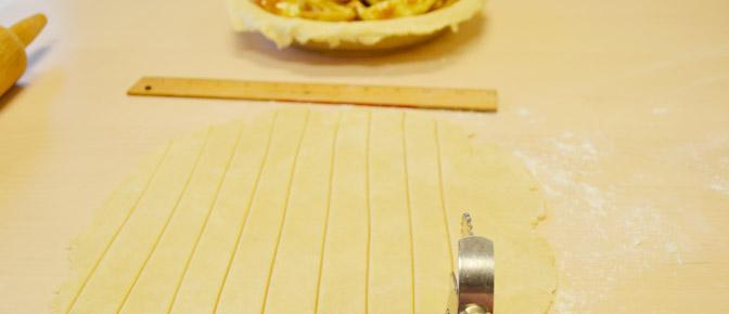 Cut Crust in Strips
