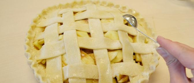Sprinkle Sugar on Pie