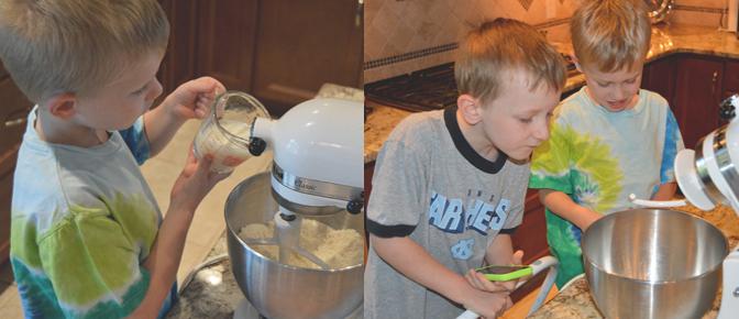 Add Milk to Mixture