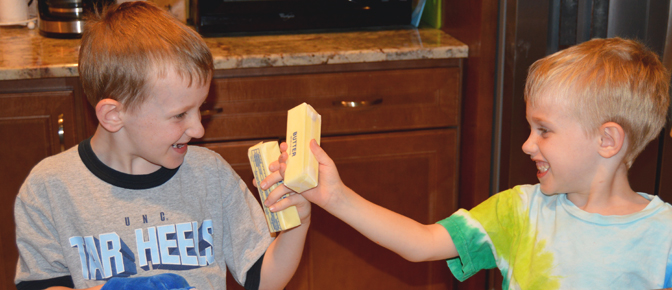 Butter Battle with Kids
