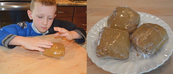 Wrap Dough for Refrigerator