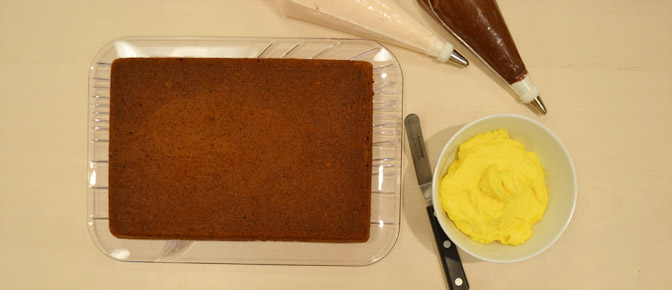 Cake Ready to Frost