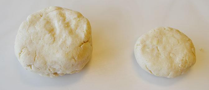 Pie Dough Halves