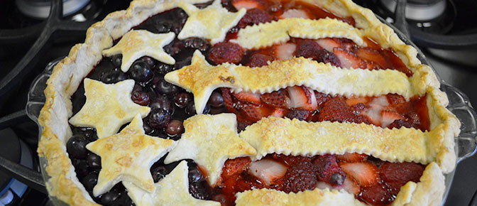 Final American Berry Baked Pie
