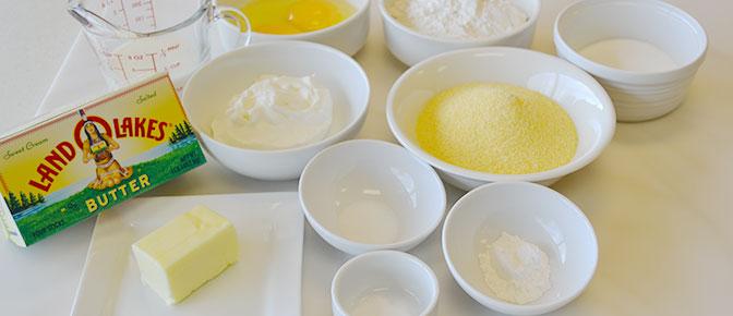 Cornbread Recipe Ingredients