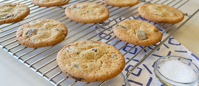 Final Cookies on Rack