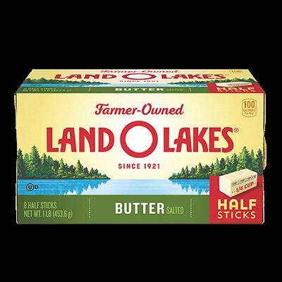 Salted Butter in Half Sticks