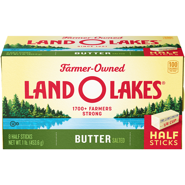 Salted Butter In Half Sticks Land O Lakes