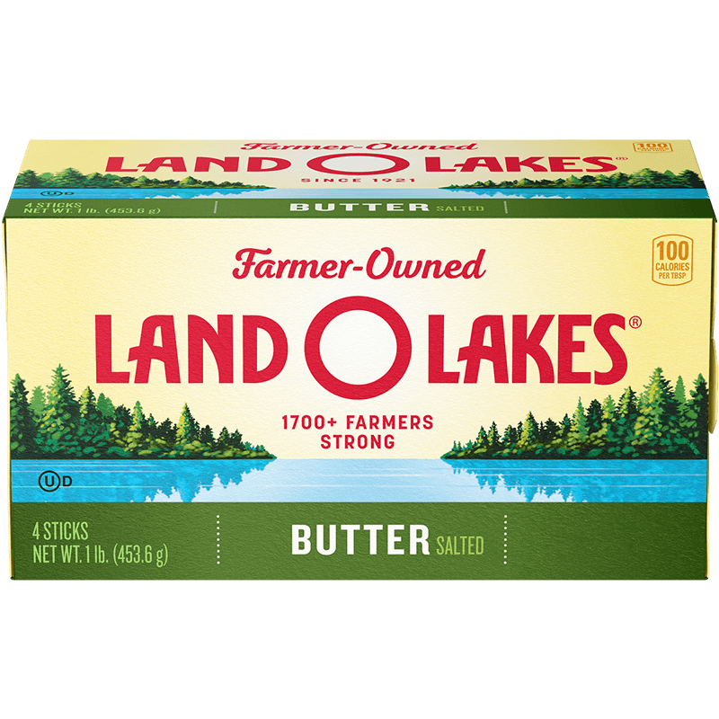 Land O'Lakes stick salted butter