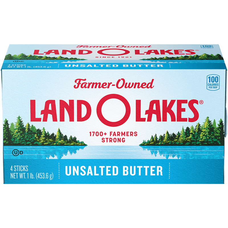 Land O'Lakes stick unsalted butter