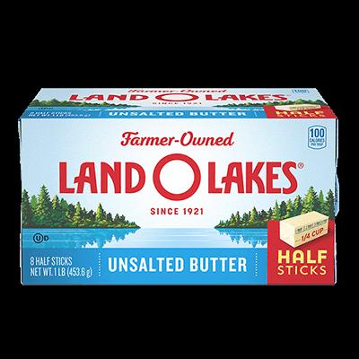 Unsalted Butter in Half Sticks