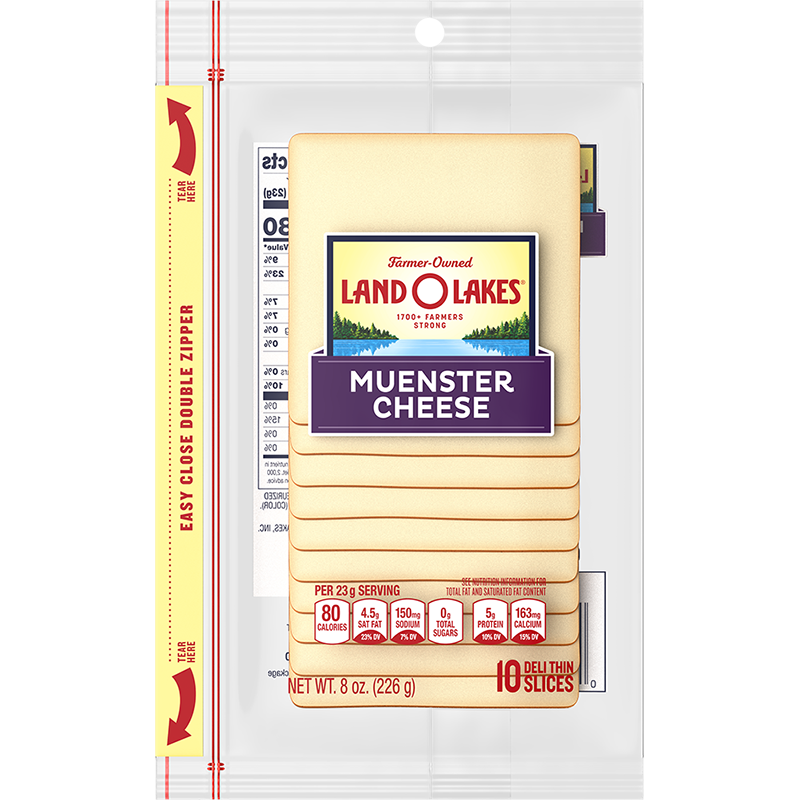 Sliced Muenster Cheese