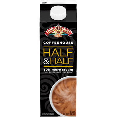 Coffeehouse Style Half & Half