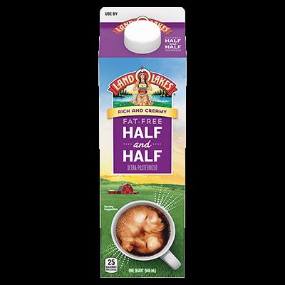 fat free half and half vs half and half
