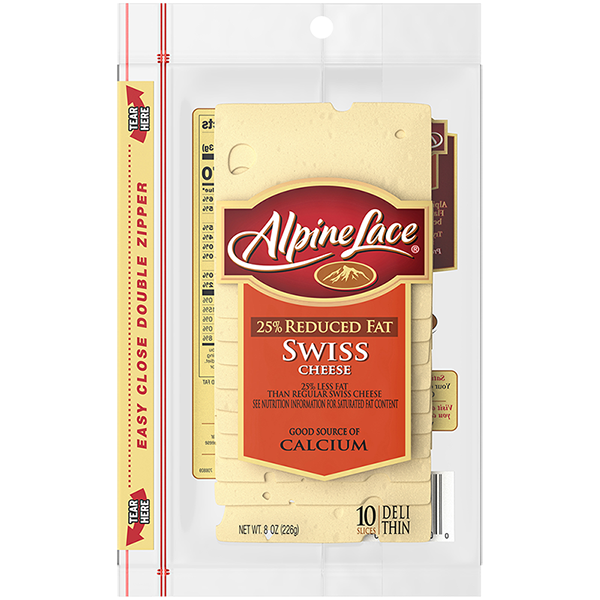 Alpine Lace® Swiss Sliced Cheese