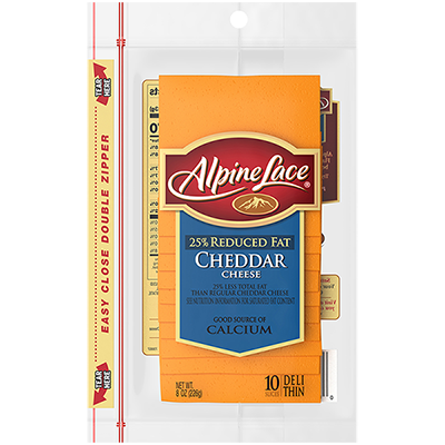 Alpine Lace® Sliced Cheddar Cheese
