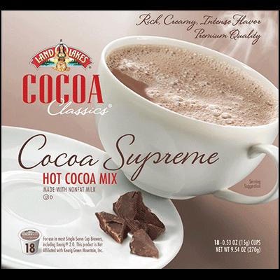 Cocoa Single-serve Pods