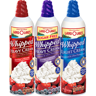 Aerosol Whipped Cream Land O Lakes