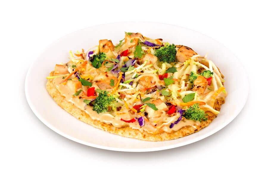 Thai Chicken Flat Bread