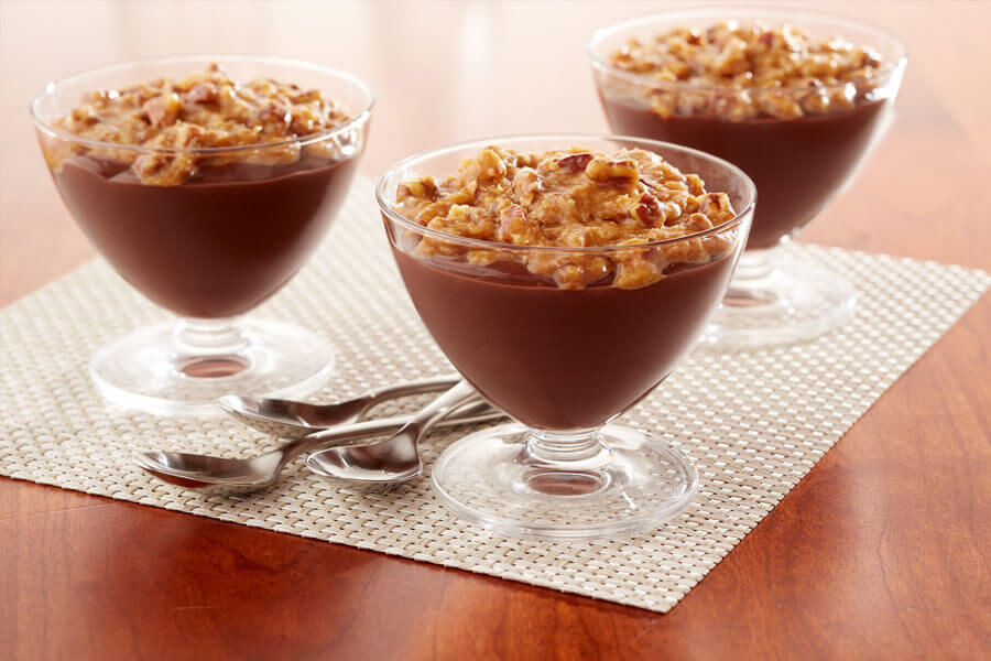 German Chocolate Pudding