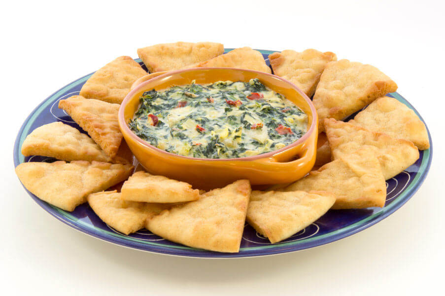 Spinach Artichoke Dip with Golden Velvet Cheese Spread and Parmesan