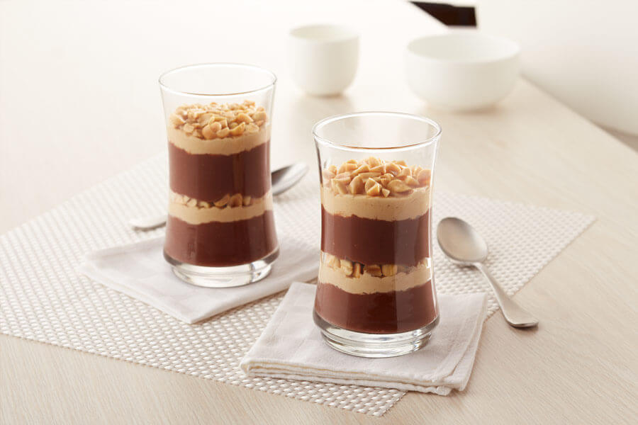 Peanut Butter Chocolate Parfait