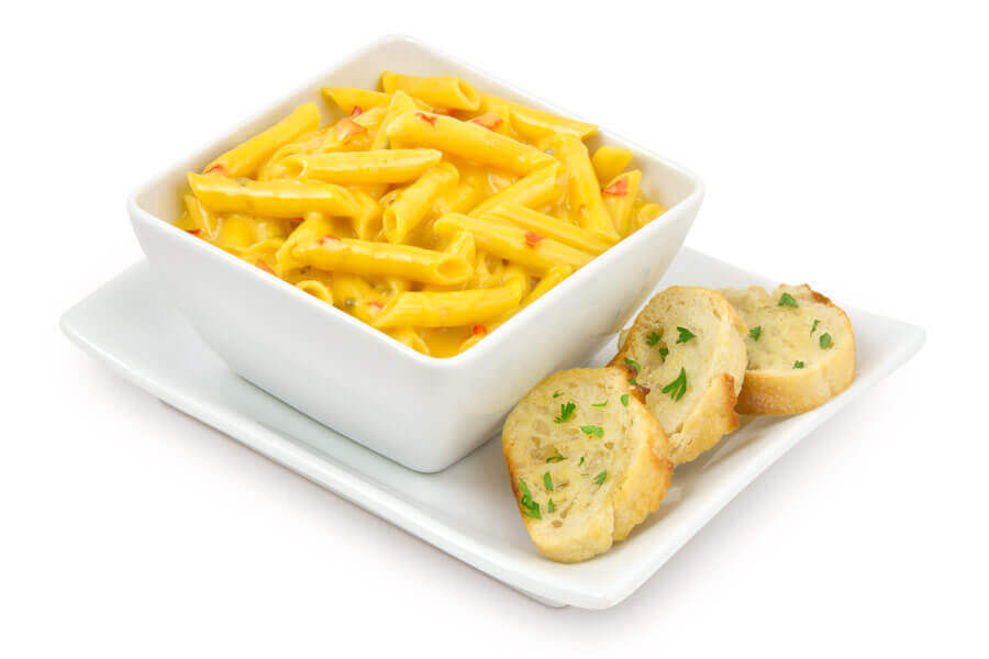Macaroni and Cheese with Queso Bravo