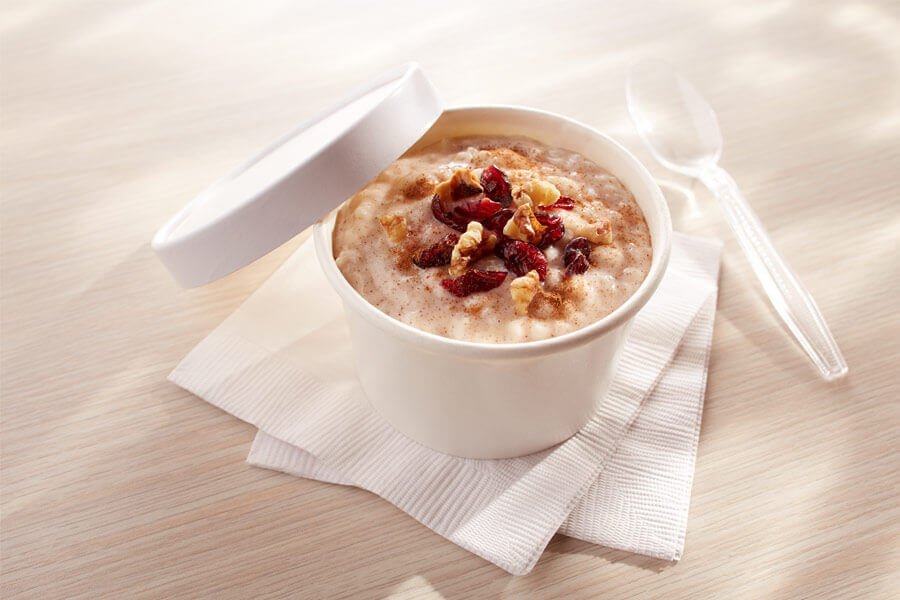 Rice Pudding Breakfast Bowl