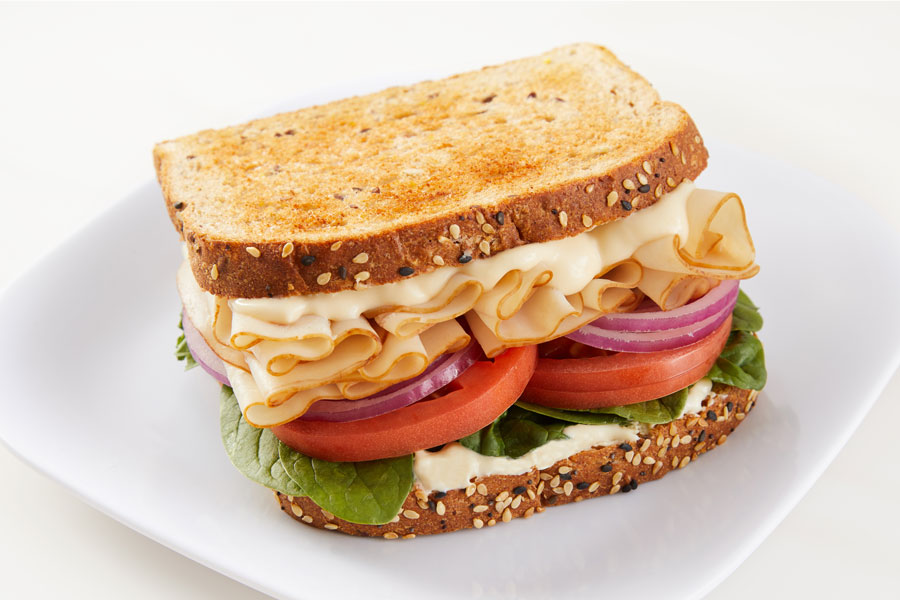 Alfredo Dijon Turkey Sandwich recipe
