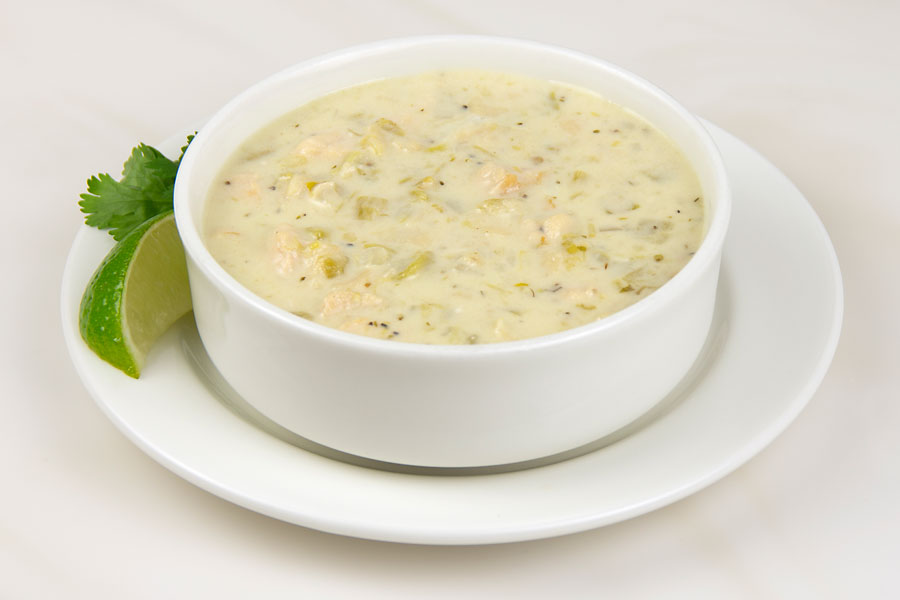 Green Chile Chicken Enchilada Soup Recipe