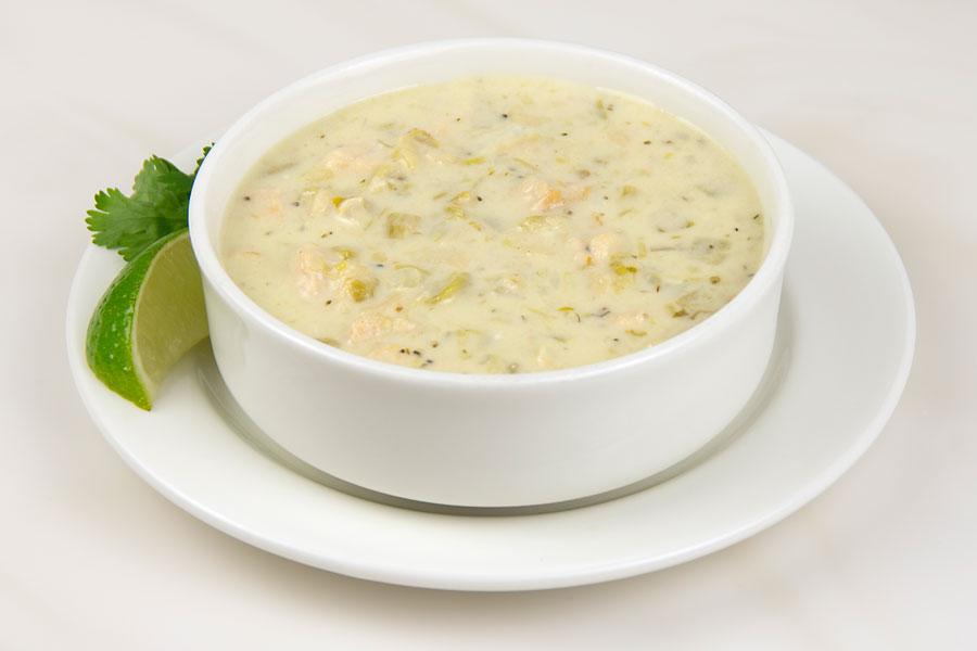 Green Chile Chicken Enchilada Soup Recipe