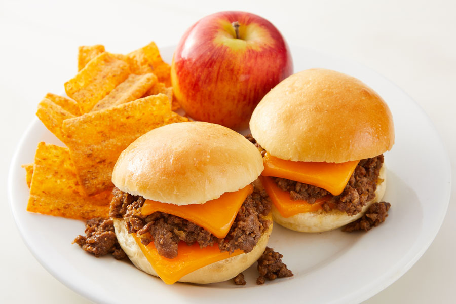 Hot Beef and Cheese Sliders recipe