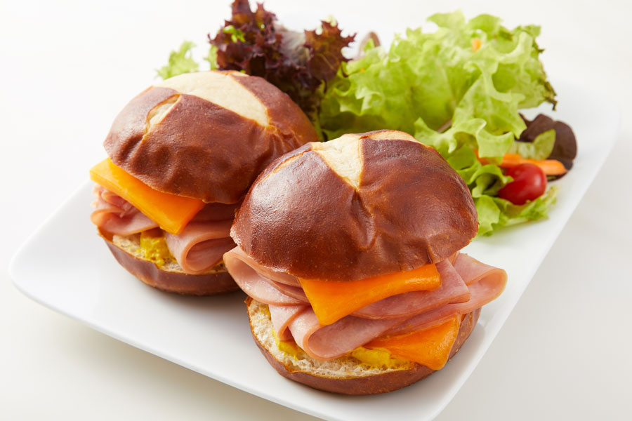 Hot Ham and Cheese Sliders recipe