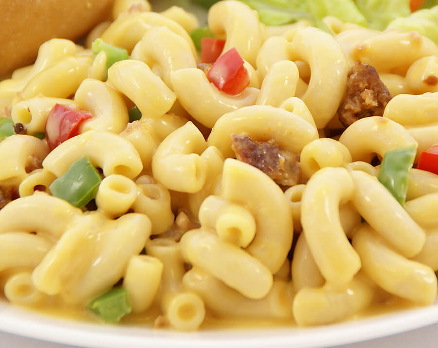 Italian Sausage Macaroni and Cheese