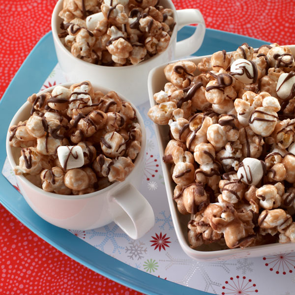 Hot Cocoa Popcorn Recipe Land O Lakes