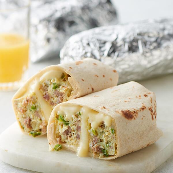 Make-Ahead Breakfast Burritos Image