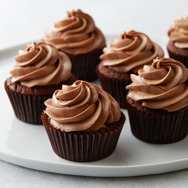 Small Batch Chocolate Buttercream Cupcakes Recipe | Land O'Lakes