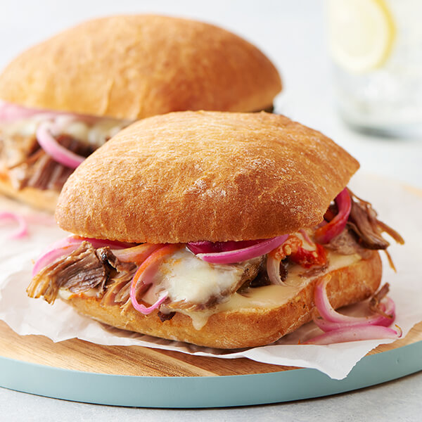 Smoked Pork Sandwiches Image