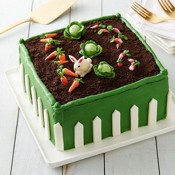 Spring Garden Cake Image