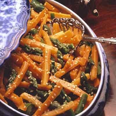 Sesame Carrots Gourmet Image