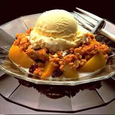 Thirty Minute Peach Crisp Image