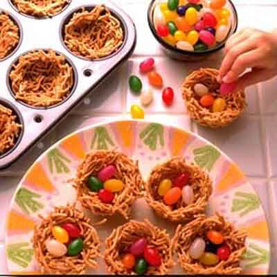 Jelly Bean Nests Image