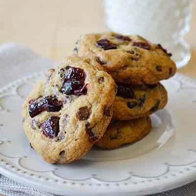 Cranberry Chocolate Chip Cookies Image