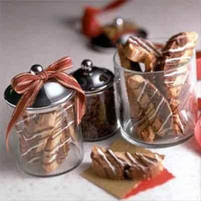 Vanilla & Chocolate Biscotti Image
