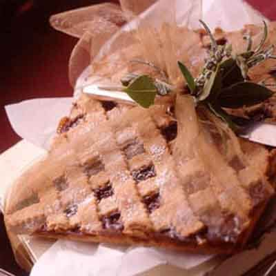 Strawberry Linzer Bars Image