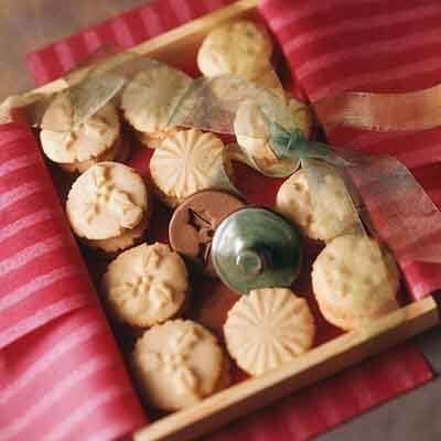 Stamped Ginger Butter Cookies Recipe