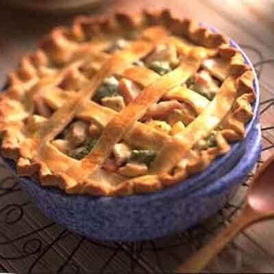 Deep-Dish Turkey Pot Pie Image